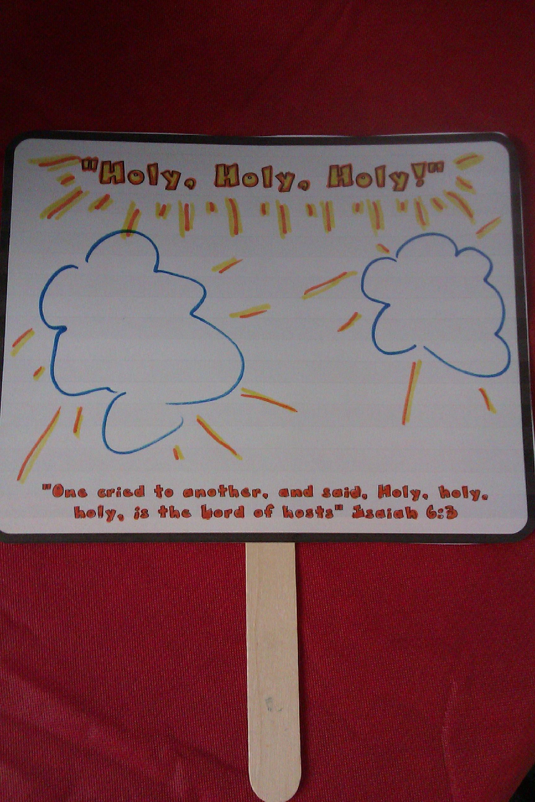 sunday lesson u201choly holy holy u201d isaiah 6 1 8 word for