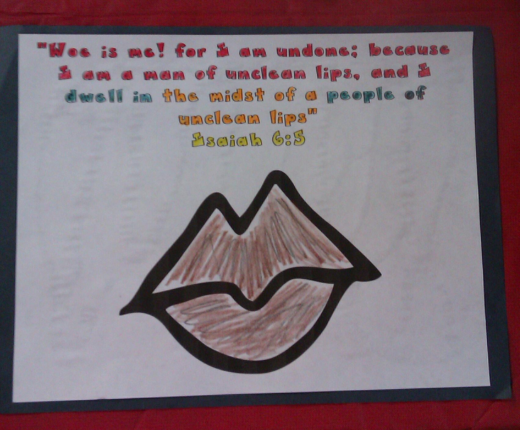 Sunday School Craft God Is Holy