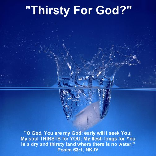 Thirsty For God-001