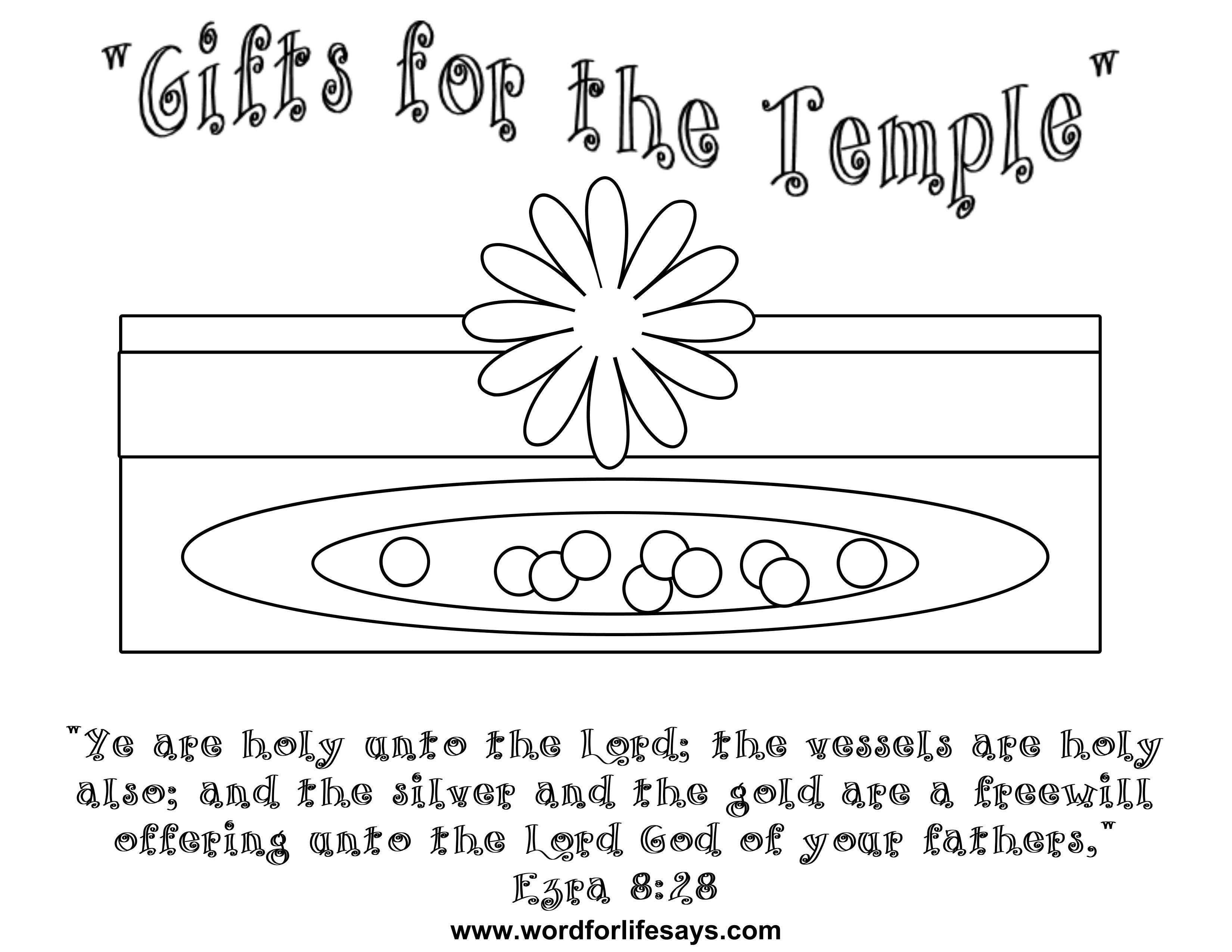 gifts for the temple u201d sunday lesson ezra 8 24 30 july 28