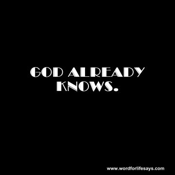 God Knows-001