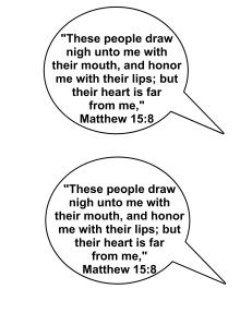Matthew 15 8 Verse Cut Out-001