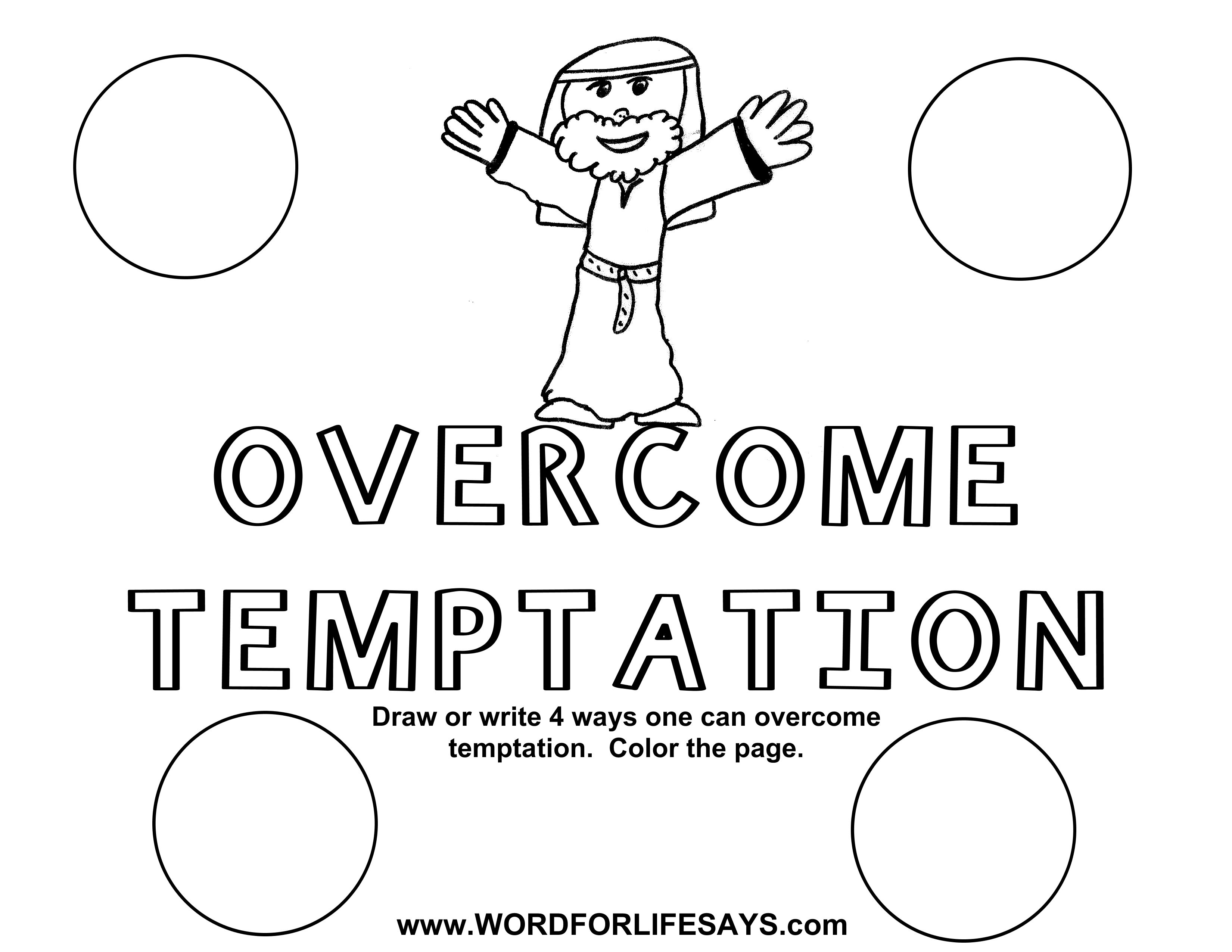 Overcome Temptation Draw The Scene 001