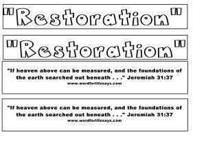 Restoration Heaven Verse Cut Out-001