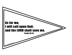Psalm 55 16 Flag Activity Sheet-001