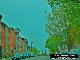 We travel down West Lombard Street each and every time we go to church.