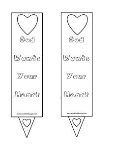 God Wants Your Heart Doorknob Hanger Banner-001