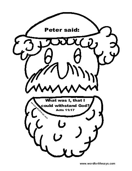 Coloring Pages Peter And Cornelius