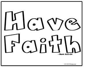 Have Faith Activity Sheet-001