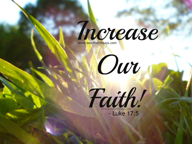 how to increase your faith in god pdf