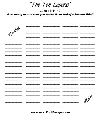 Free Worksheets abcjesuslovesme worksheets : 10 Lepers Preschool Worksheet. 10. Best Free Printable ...