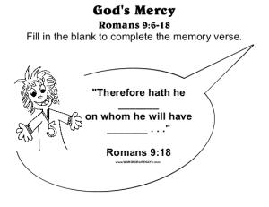 God's Mercy Memory Verse-001