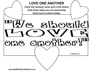 Love One Another Draw The Scene 001