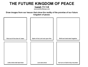 The Future Kingdom of Peace Draw the Scene-001