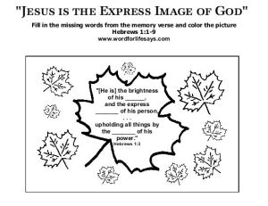 jesus-is-the-express-image-of-god-memory-verse-001