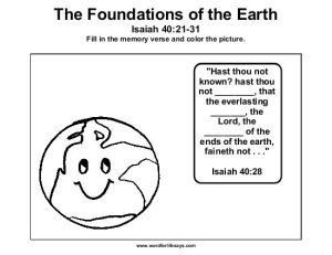 the-foundations-of-the-earth-memory-verse-001