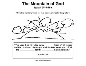the-mountain-of-god-memory-verse-001