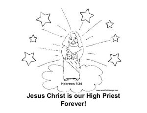 jesus-high-priest-forever-coloring-sheet-001