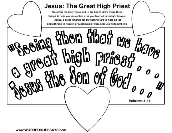 high priest coloring pages - photo#28