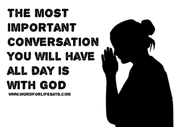 the most important conversation you will have