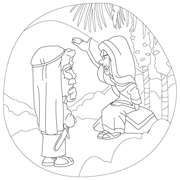 deborah bible coloring pages - photo#16