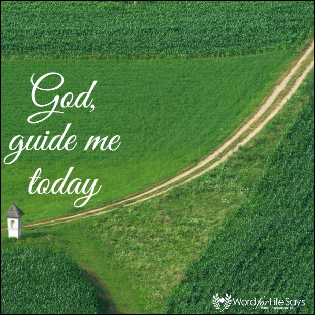God guide me today - pagemodo pic