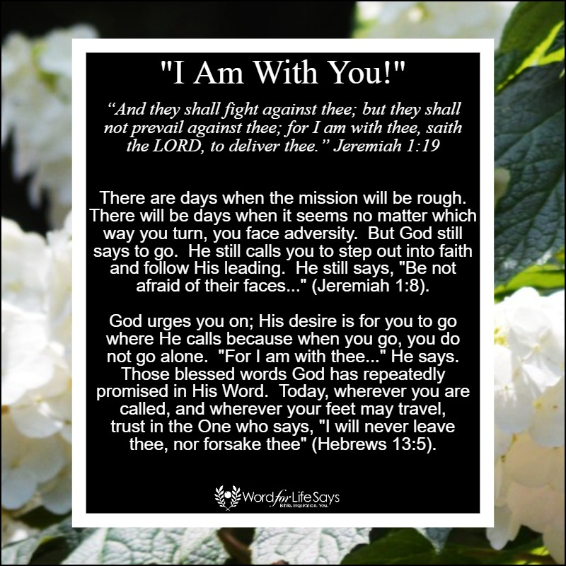I am with you - my pic