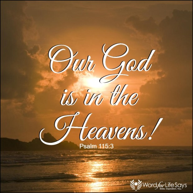 our God is in the heavens - pagemodo pic