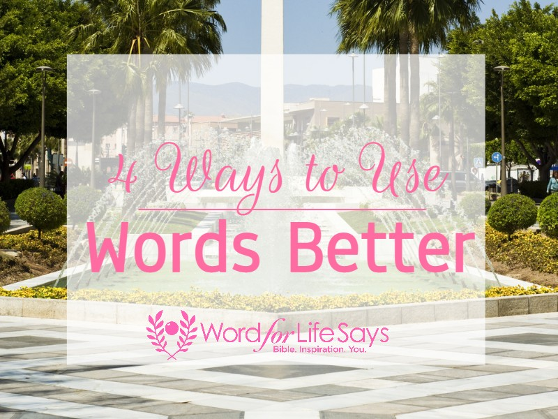 4 ways to use words better - pagemodo pic