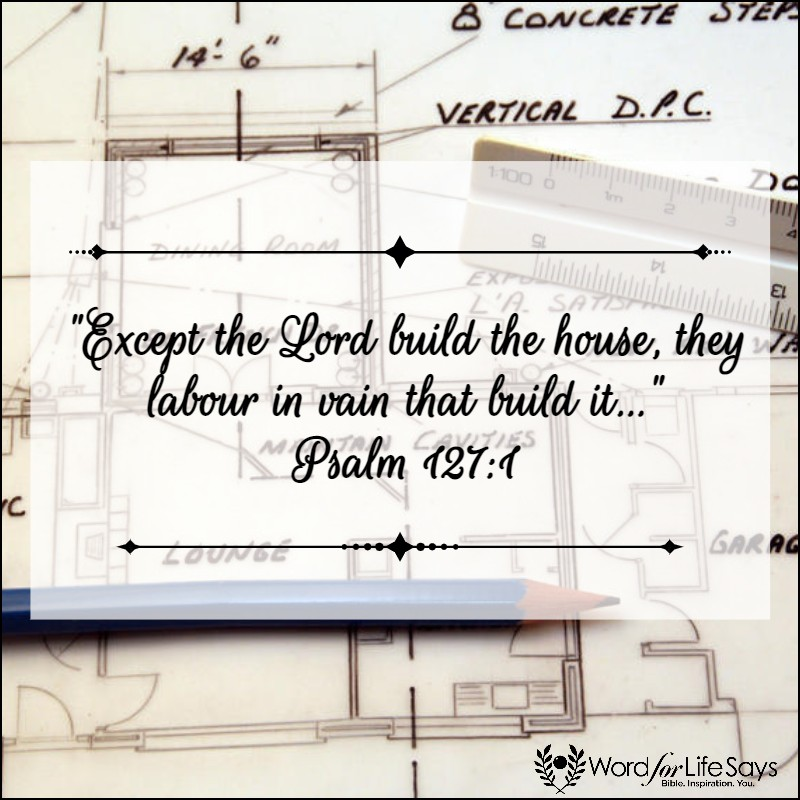 except the LORD build the house - pagemodo pic