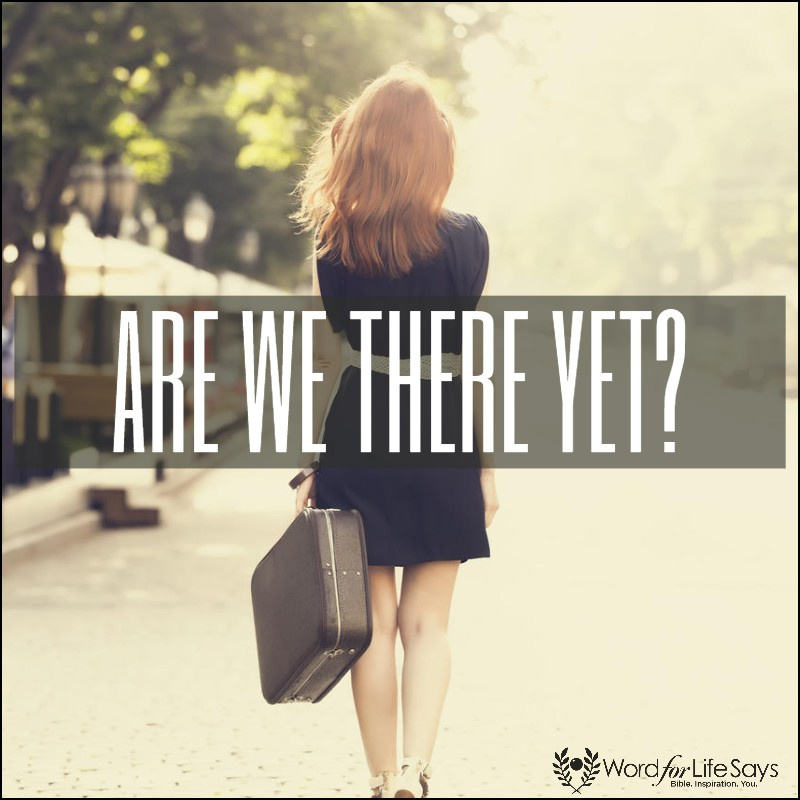 are we there yet - pagemodo pic